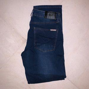 BRAND NEW Girls Dark Blue Hudson Skinny Jeans